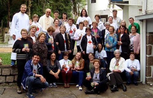 Apostolado da Oração de Lajeado visita o Seminário Dom Alberto