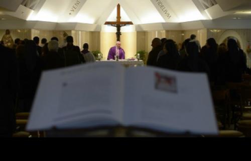 Francisco: Santos levam avante a Igreja, não os hipócritas