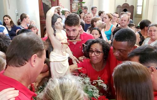 Venâncio Aires reúne 25 mil pessoas na Missa de São Sebastião