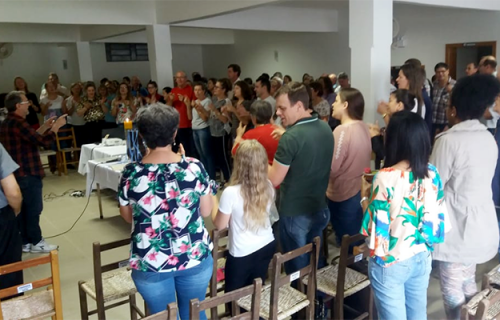 Catequistas do Batismo concluem primeira etapa de formação