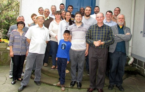 Párocos e vigários paroquiais dos seminaristas visitam o Seminário Dom Alberto