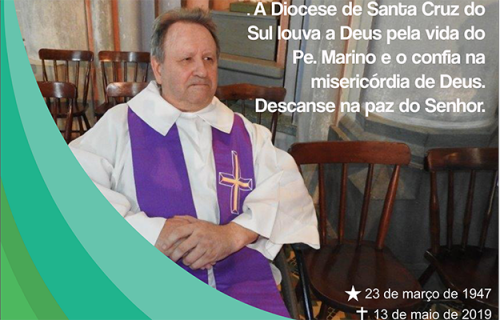 Diocese se despede do Pe. Marino