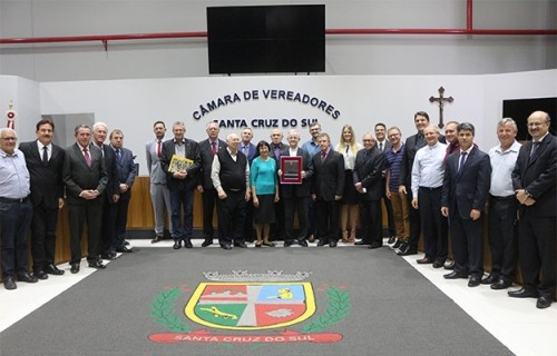 Câmara de Vereadores homenageia Diocese
