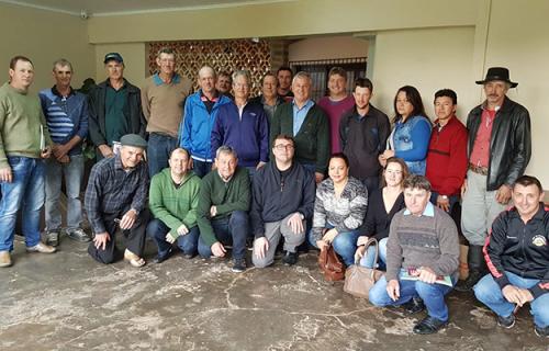 Pe. Rogério se reúne com diretorias