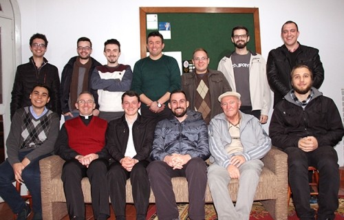 Seminário Dom Alberto confraterniza com seminaristas de Caxias do Sul
