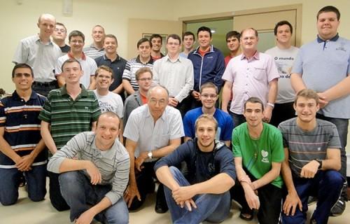 Seminaristas maiores realizam confraternização com seminaristas da diocese de Montenegro