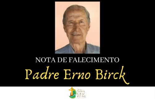 Diocese se despede do Padre Erno Birck