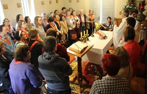 Apostolado da Oração de Venâncio Aires visita o Seminário Dom Alberto