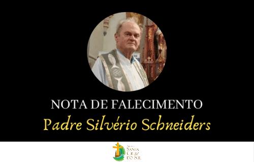 Pe. Silvério Schneiders celebra sua páscoa