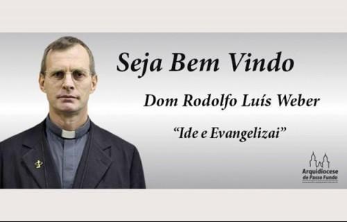 Dom Rodolfo Weber é o novo arcebispo de Passo Fundo