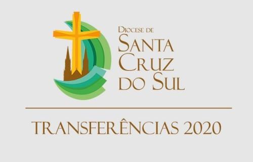 Transferências dos Presbíteros para 2020
