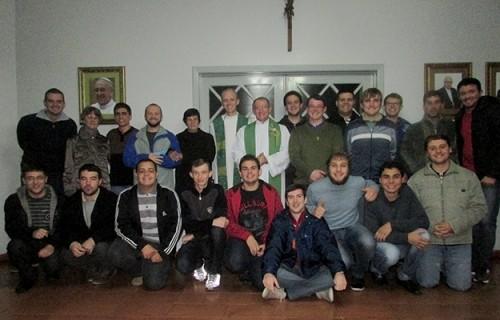 Confraternização com o Seminário Maior da Diocese de Alegria