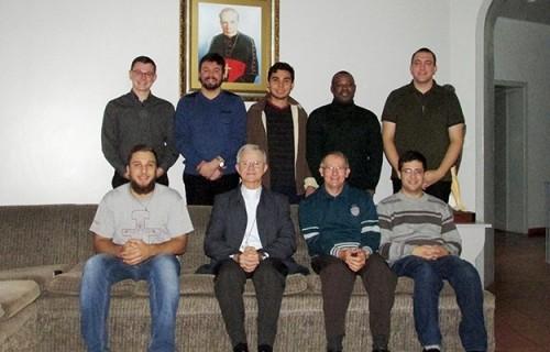 Dom Aloísio visita Seminário Maior na volta da 55ª Assembleia da CNBB