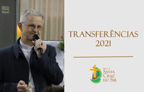 Transferências para o ano de 2021