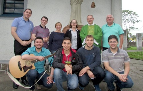 Seminário Dom Alberto vive tarde de recolhimento com as Irmãs Franciscanas de Nossa Senhora Aparecida