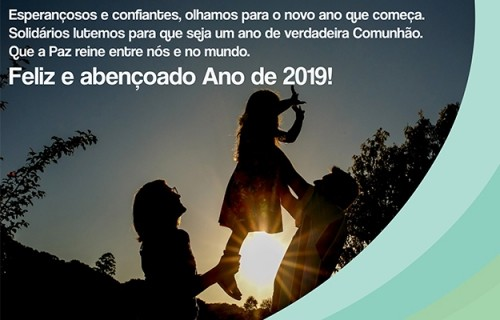 Que 2019 seja um Ano de Paz!