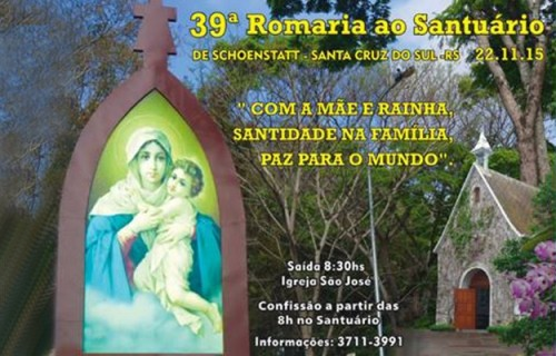 39ª Romaria ao Santuário de Schoenstatt